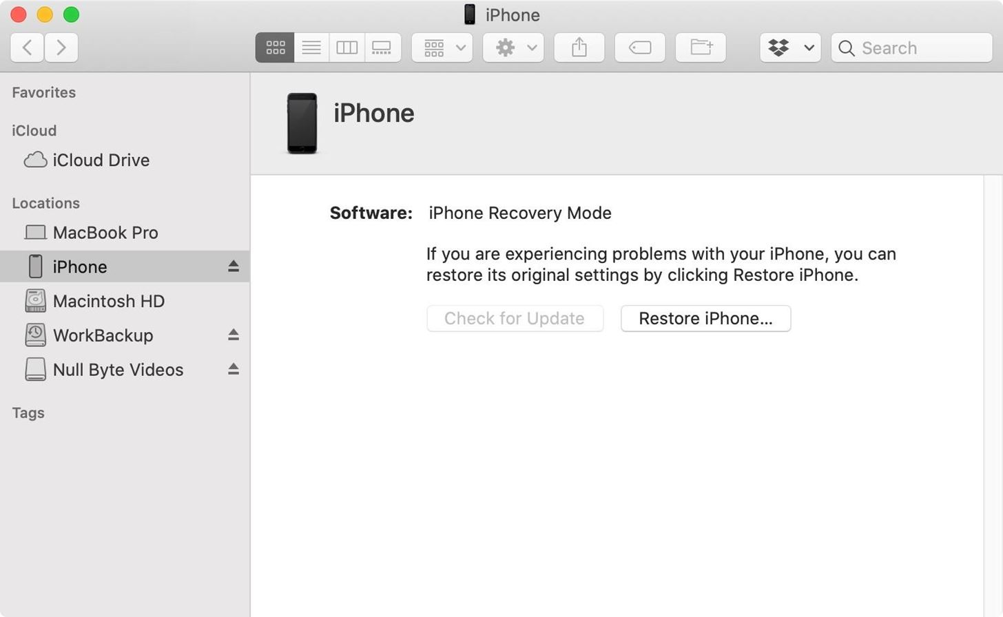 Enter recovery or DFU mode on your iPhone SE (2nd generation) to bring your device back to life