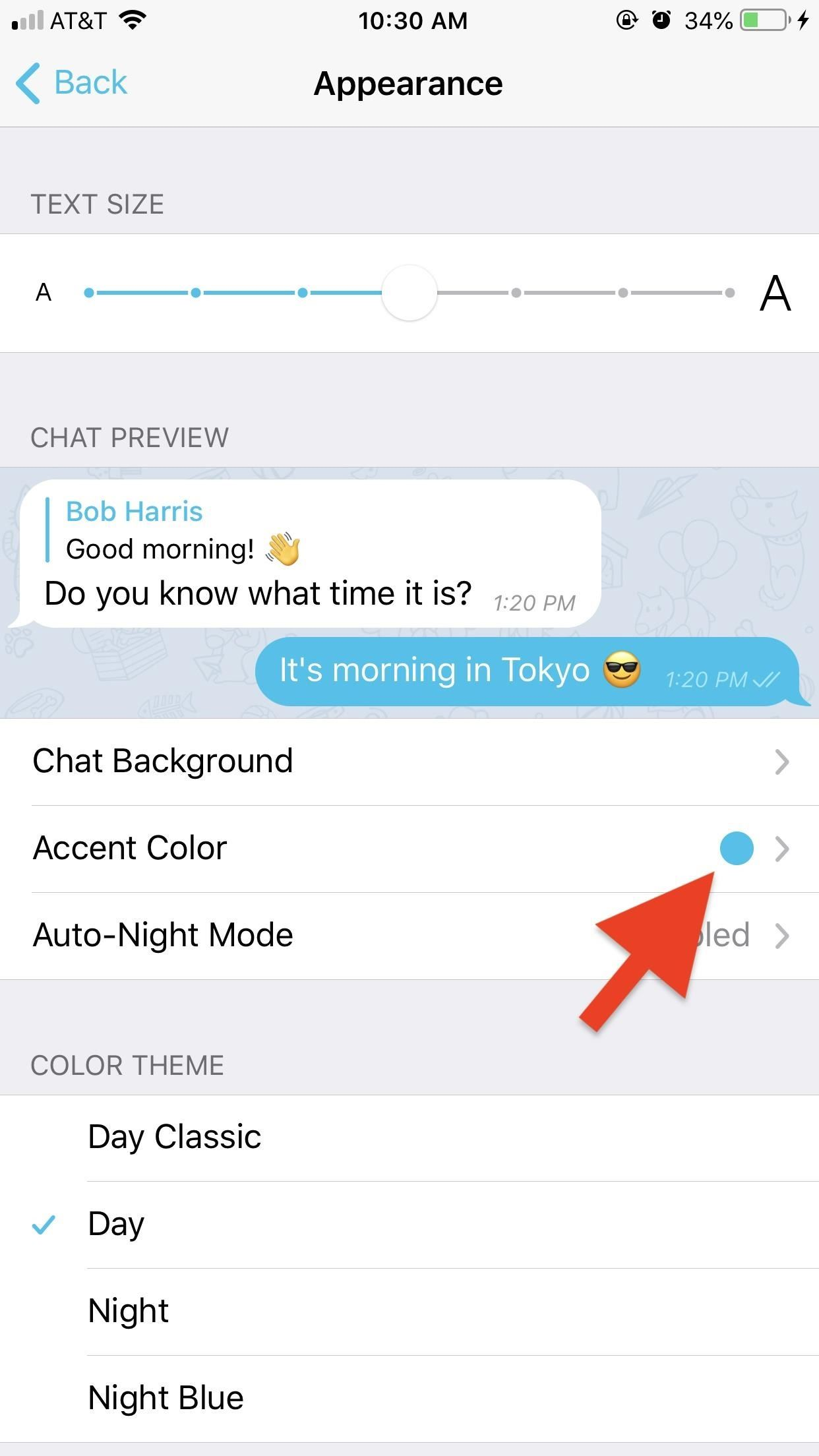 How to Change the Background & Chat Bubble Colors in All Your Telegram Chats for a Customized Look