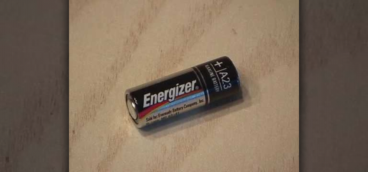 How To Hack A 12 Volt Battery For 8 1 5 Volt Button Cells