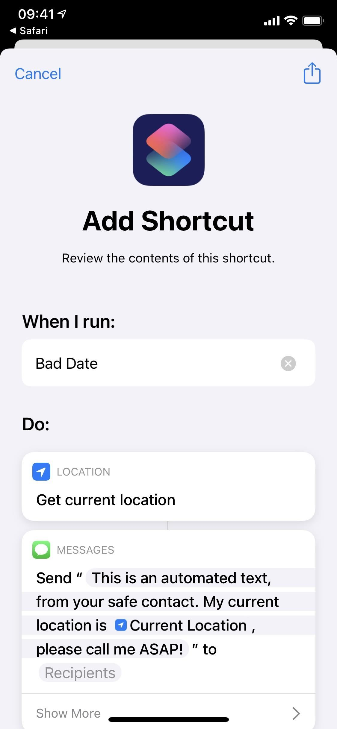This Discreet Panic Button for iPhone Will Help You Escape Bad Dates, Uncomfortable Encounters & Annoying People