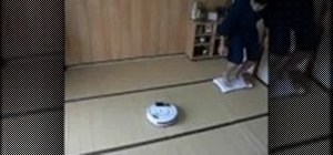 Control a Roomba with a Nintendo Wii balance board