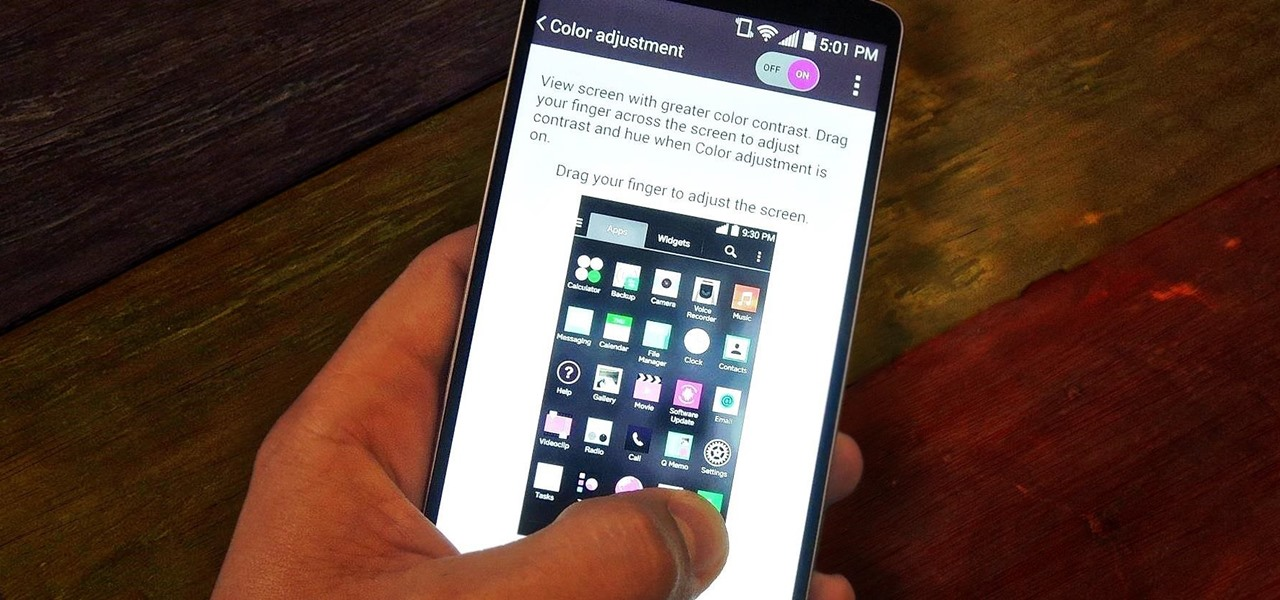 Adjust Contrast & Hue Levels on Your LG G3 for a More Vivid Display
