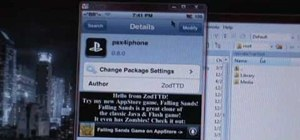 Install PlayStation games on an iPod Touch or iPhone
