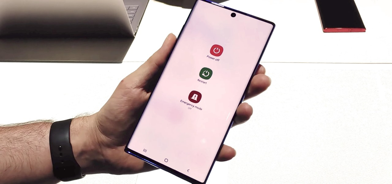 Turn Off or Restart Your Galaxy Note 10 or Note 10+