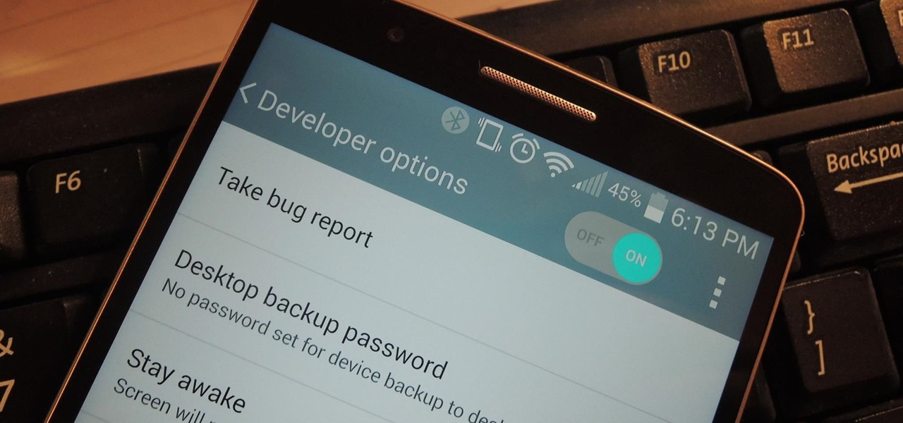 Enable the Hidden Developer Options & USB Debugging on the LG G3