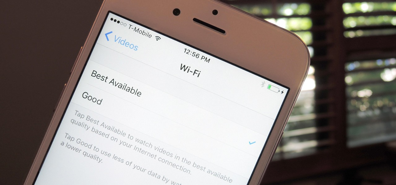 Adjust WiFi Video Quality on Your iPhone in iOS 10