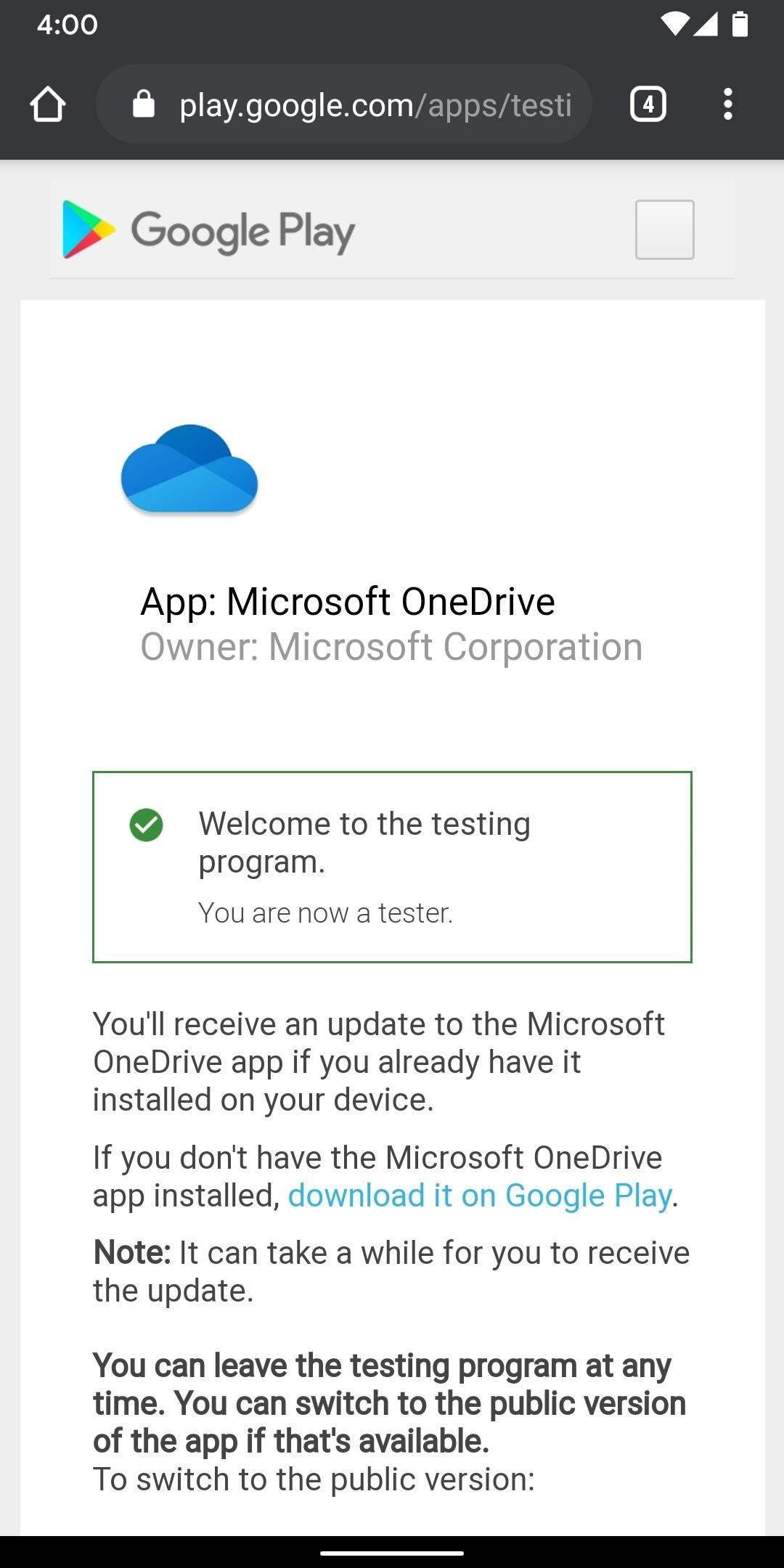 How to become a OneDrive beta tester and get new features before everyone else