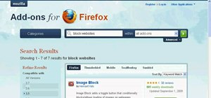 Block websites in Firefox with the BlockSite add-on