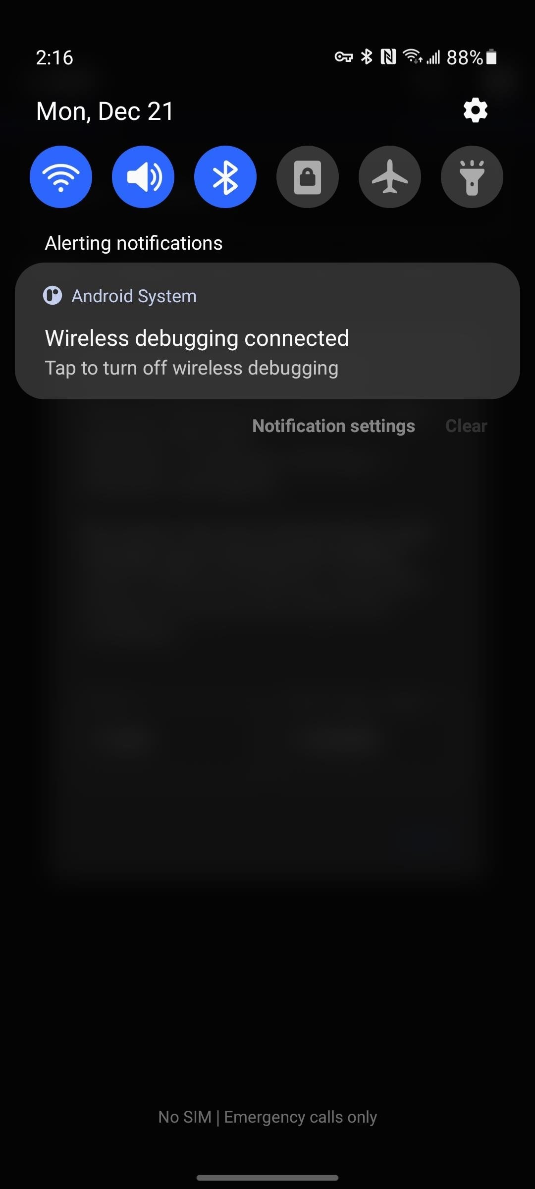 How to Send ADB Commands to Your Own Phone Without a Computer or Root