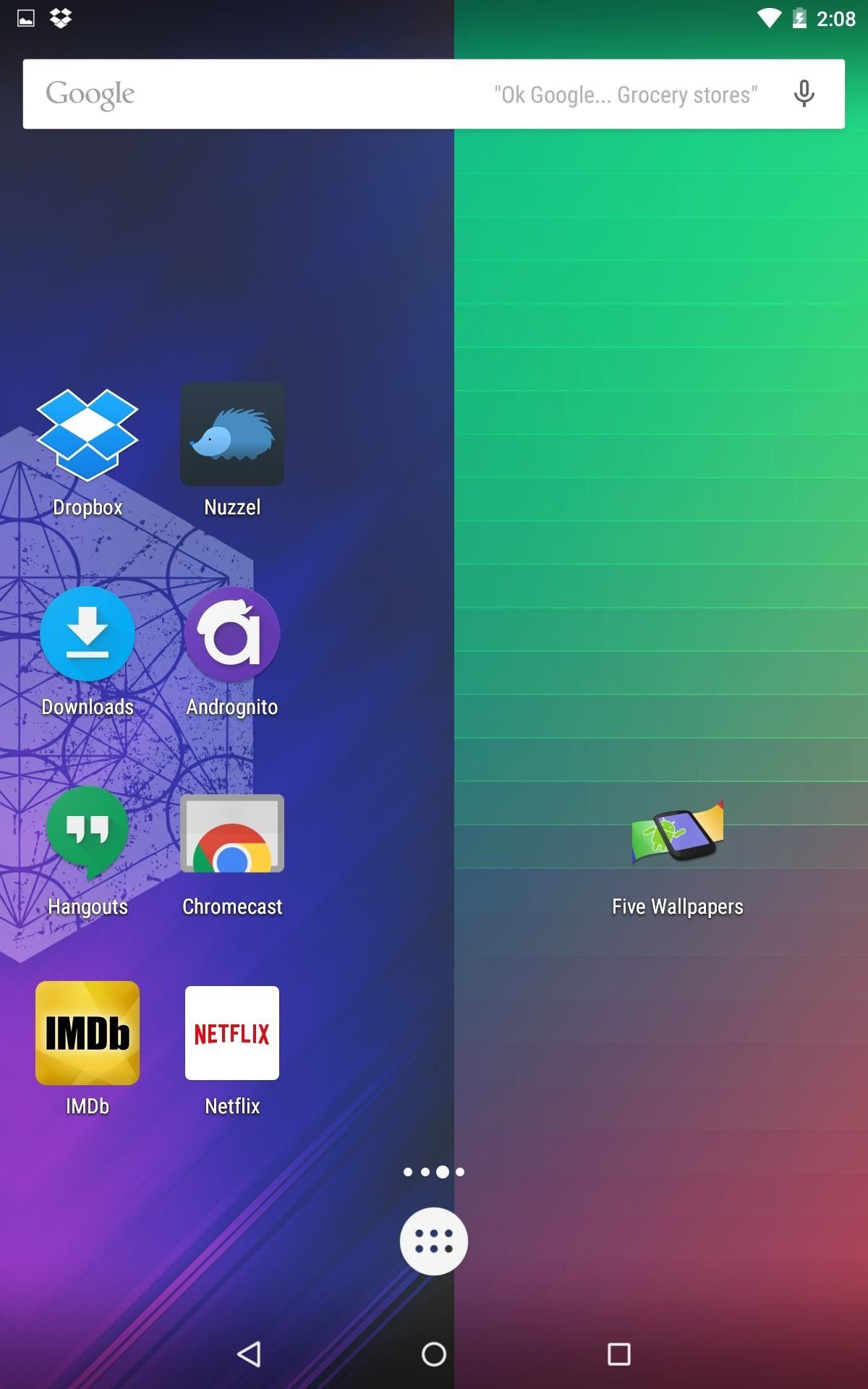 How to Give Each Home Screen Page Its Own Unique Wallpaper
