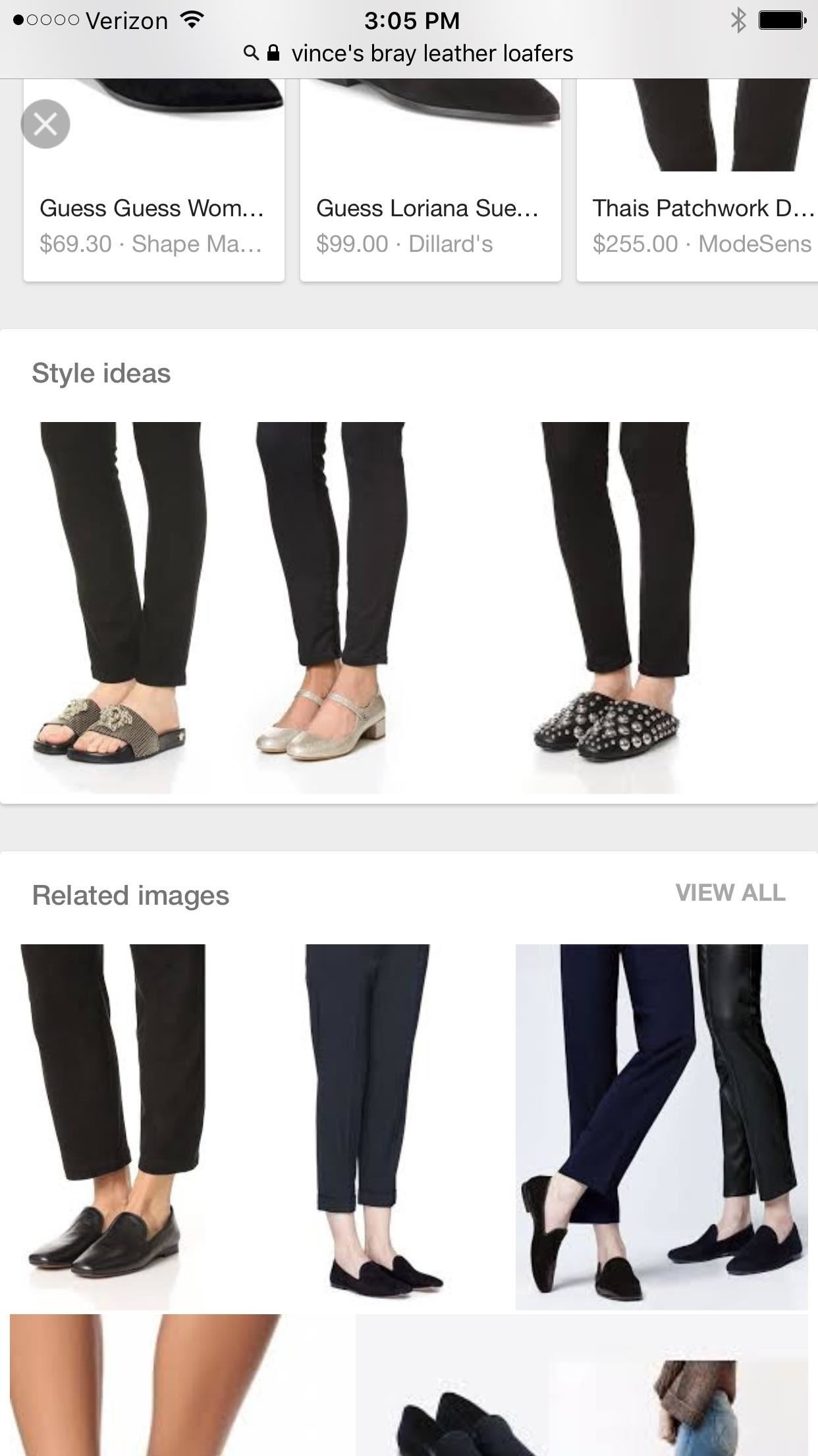 Google Search App Takes on Pinterest with Style Guide Feature