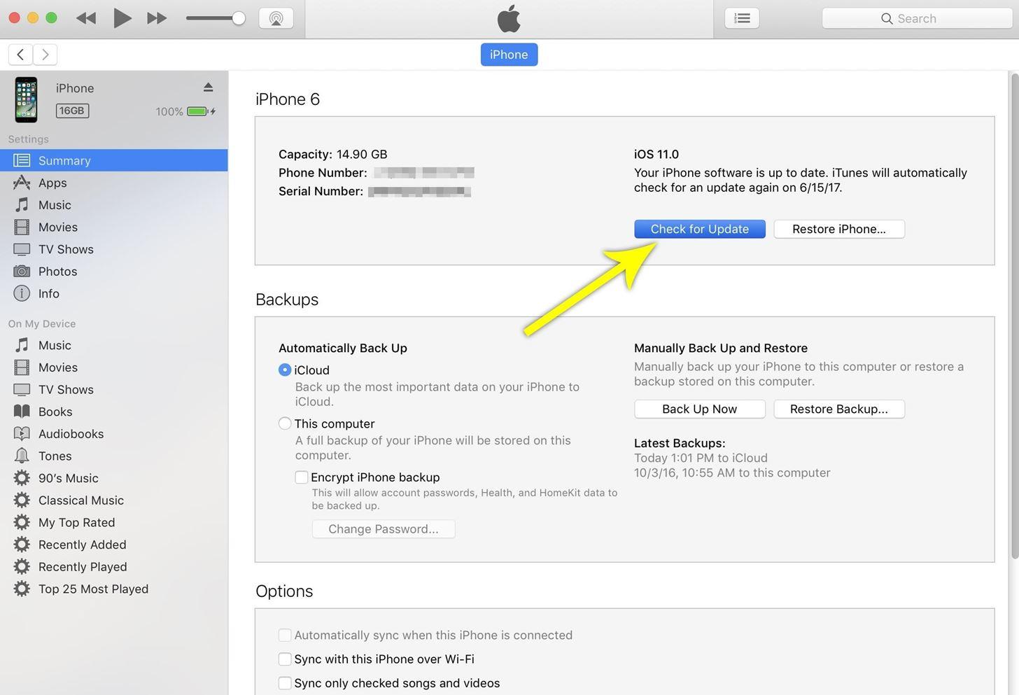 iphone update downgrade ios with ipsw file