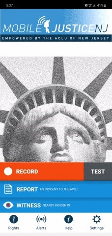 Don't Record Police with Your Regular Camera App — Use the ACLU's to Make Sure It Gets Uploaded Right Away