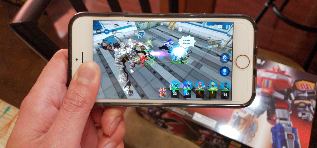 Play Power Rangers All Stars & Pilot a Megazord on Your iPhone Before Its Official Release