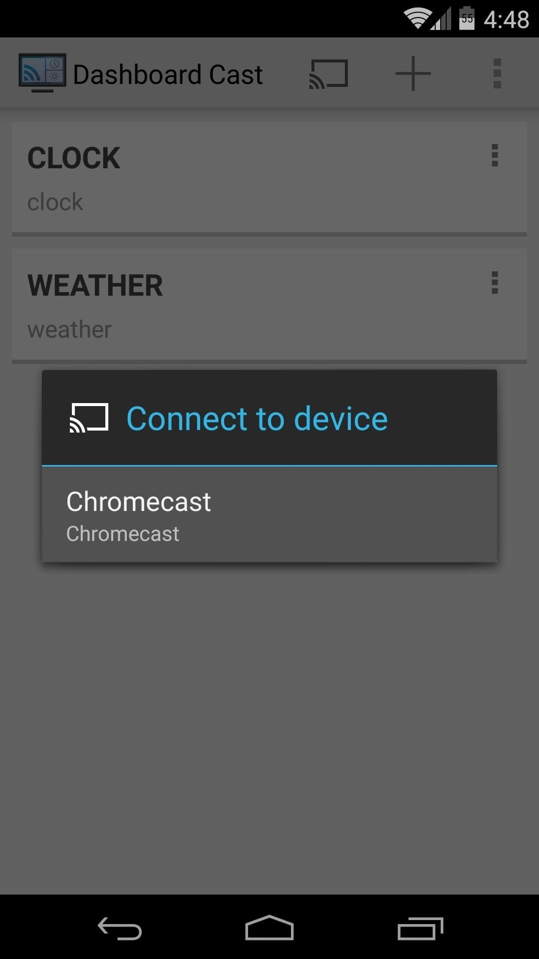 How to Add Widgets to Your Chromecast's Home Screen