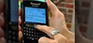 Change fonts on your BlackBerry