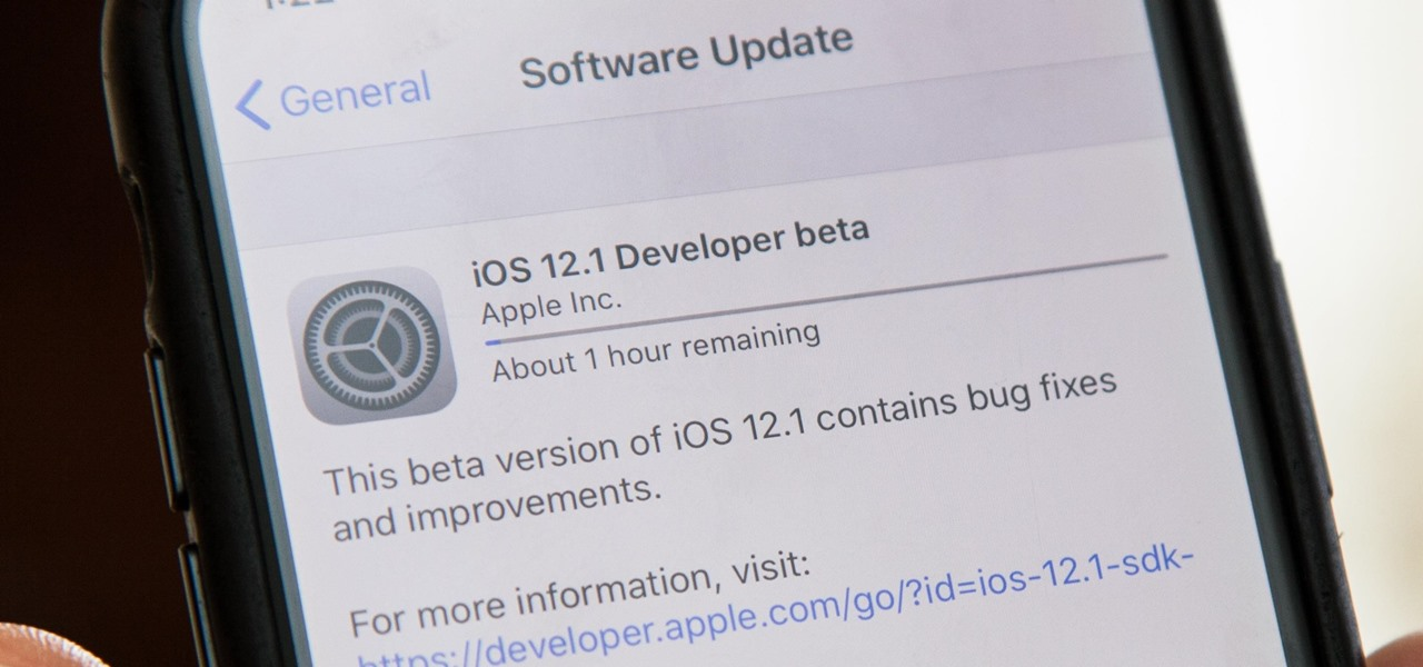 Apple Releases First iOS 12.1 Beta to Software Developers, Brings Back Group FaceTime