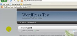 Edit basic theme colors of the WordPress Arjuna X theme using GIMP