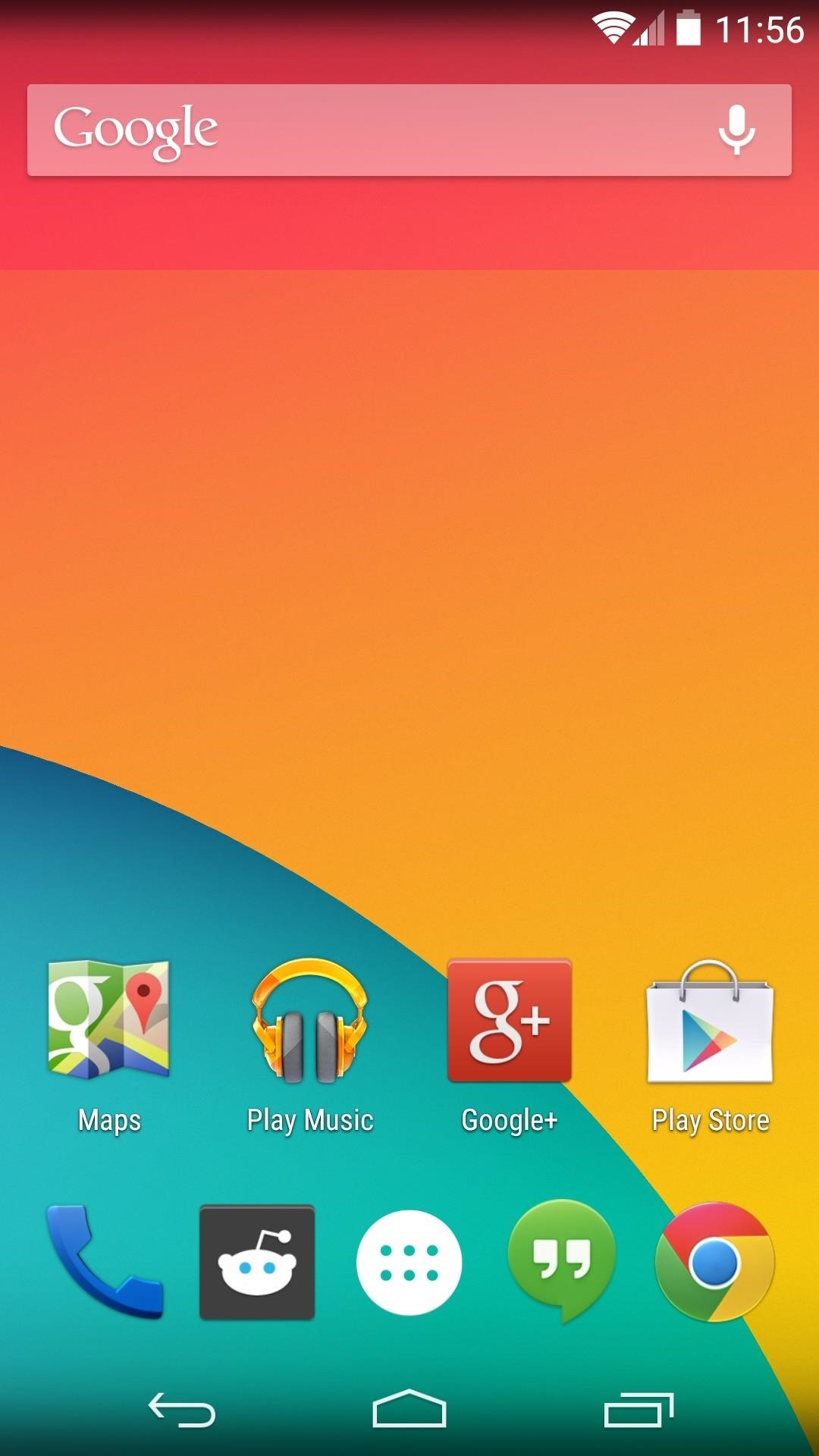 How to Theme the Navigation & Status Bars on Your Nexus 5