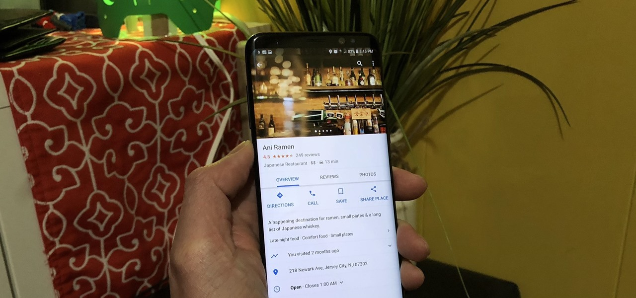 News: How to See Live & Average Wait Times for Your Favorite Restaurants in Google Maps