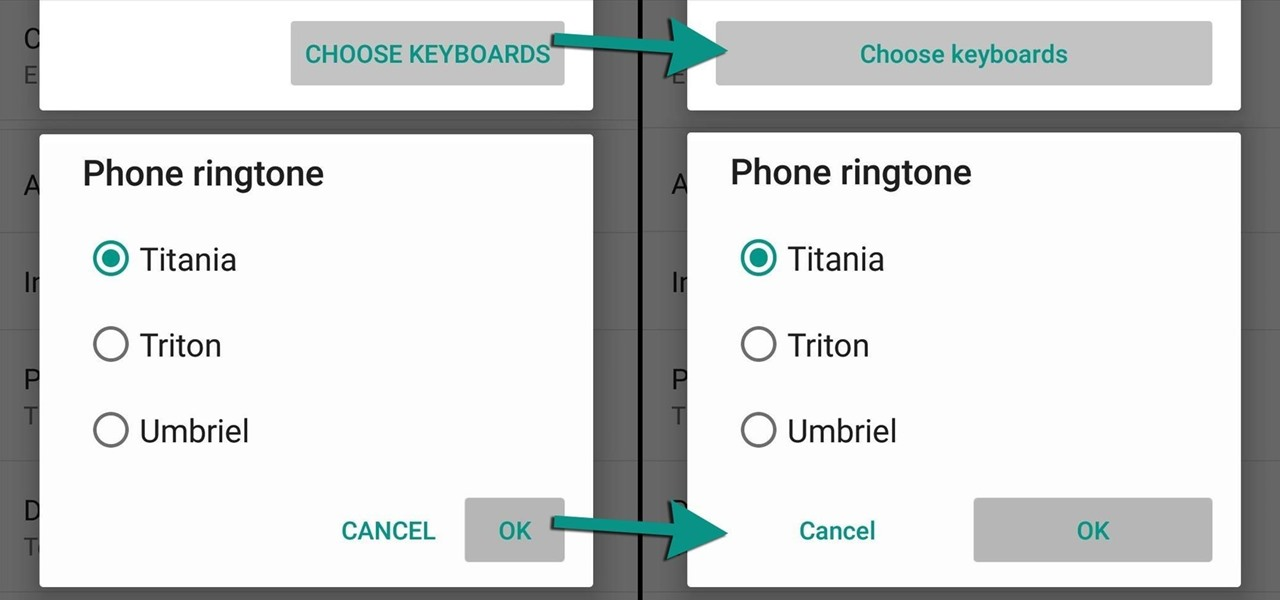 Make Android System Menus Easier to Use on Lollipop