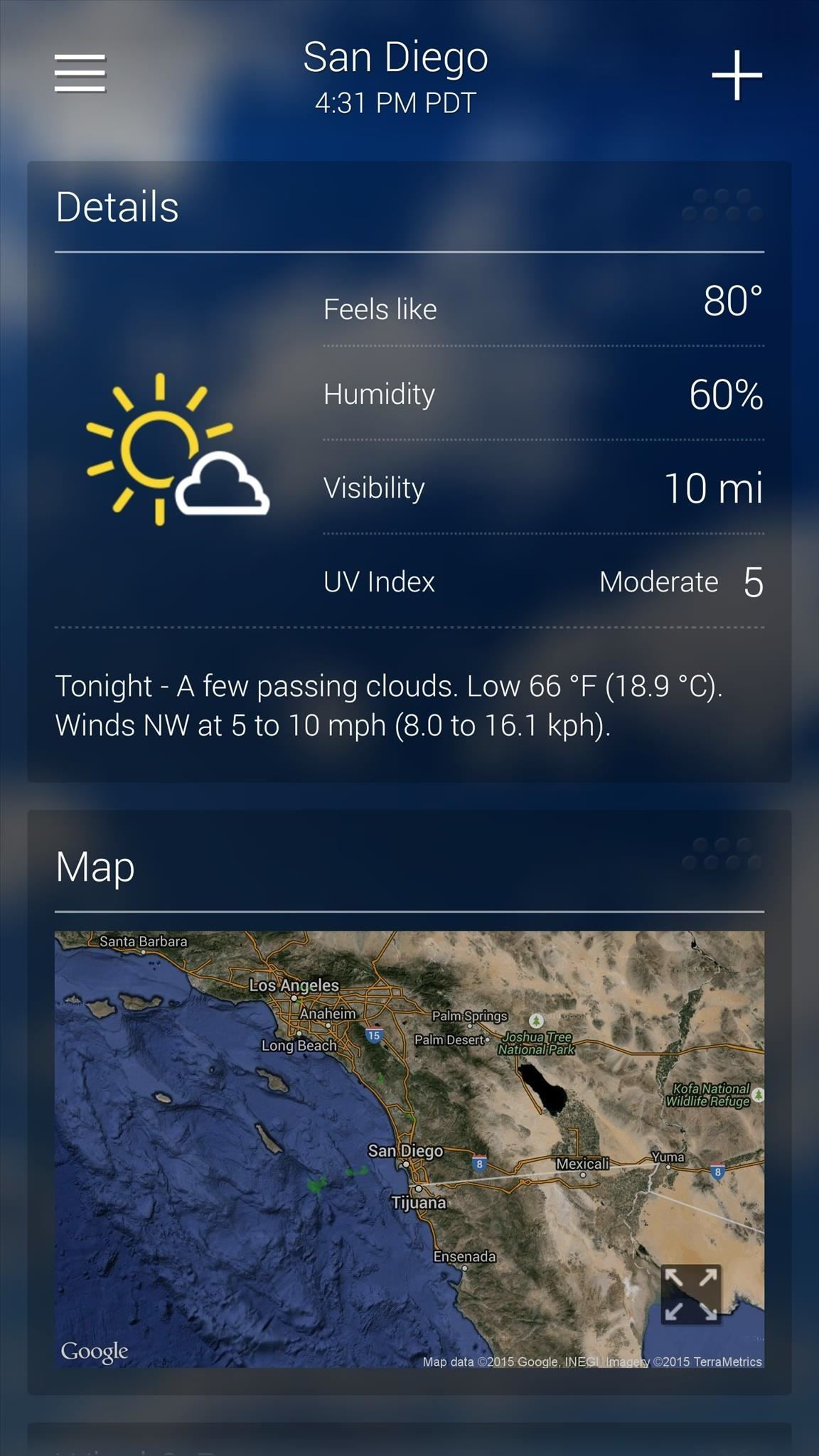 The 7 best weather apps for android iphone smartphones gadget the 7 best weather apps for android iphone smartphones gadget hacks gumiabroncs Choice Image