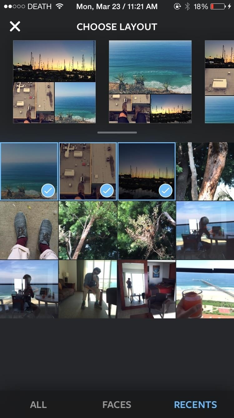 The Best Way to Create Photo Collages for Instagram Pics on Android & iPhone
