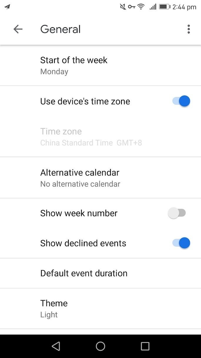 How to Enable Dark Mode in Google Calendar