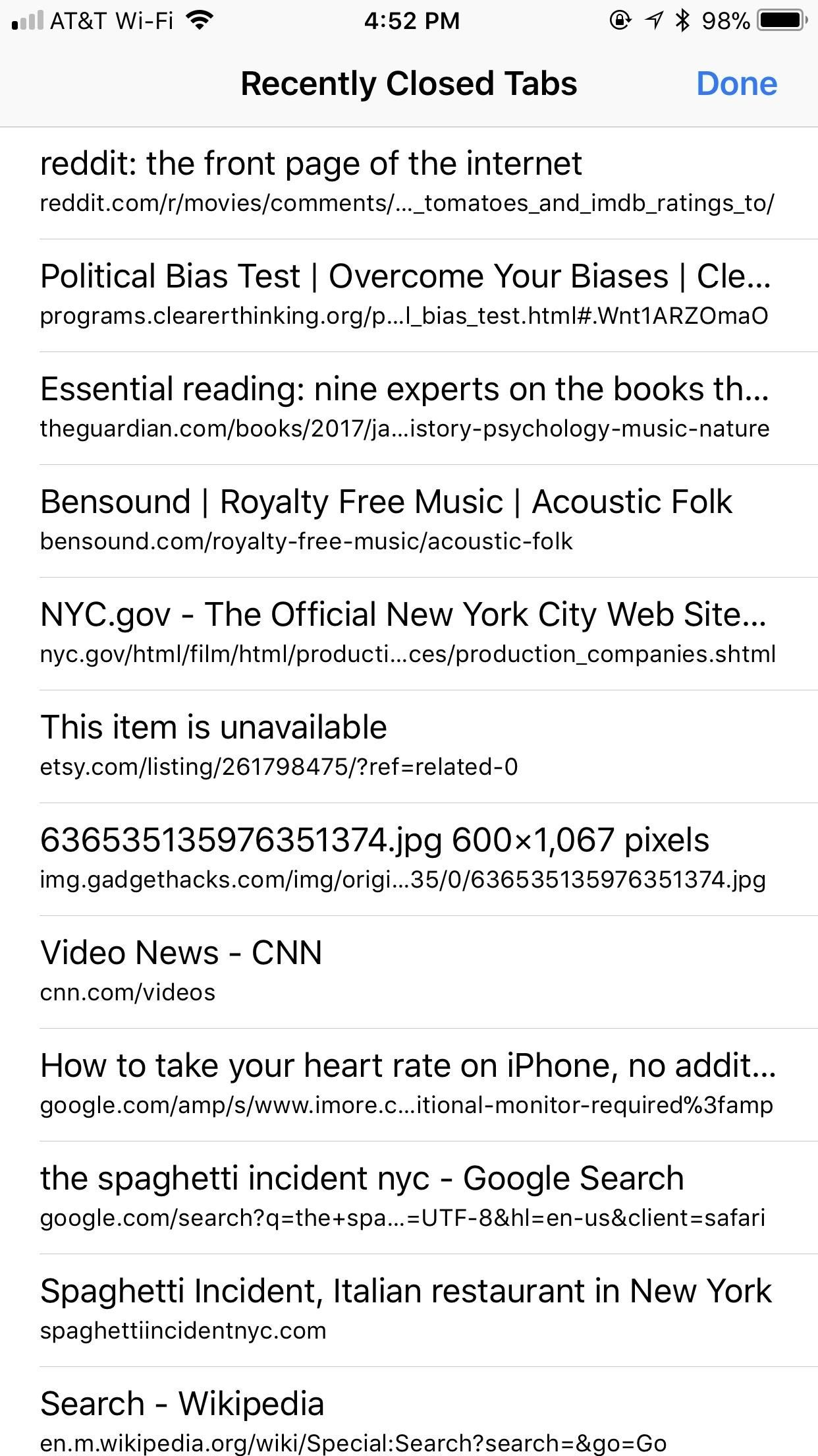 Safari 101: How to Clear Your Recently Closed Tabs List