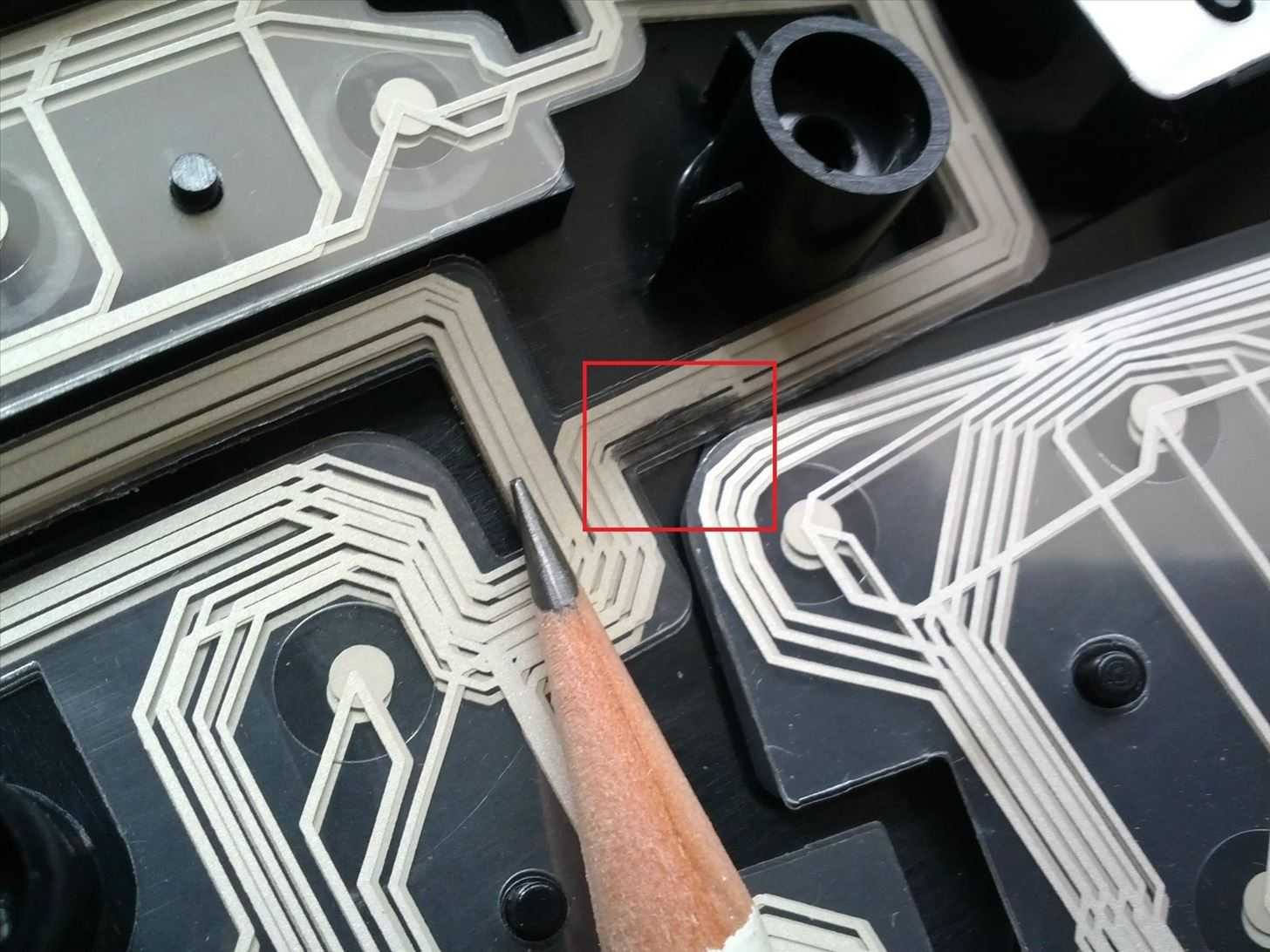 Quick N Dirty Circuit Board Repair How To Patch Faded Or Corroded Etch A This Trick Isnt Just Good For Keyboardsit Should Fix Light Damage The Pcb In Other Electronics Like Gps Game Controller Remote Control
