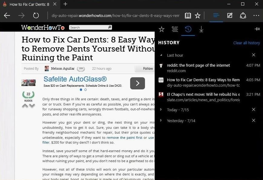 10 Things You Need to Know About Microsoft's Edge Browser in Windows