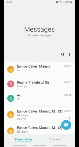 Setting Custom Notification Sounds for Individual Contacts in Samsung Messages