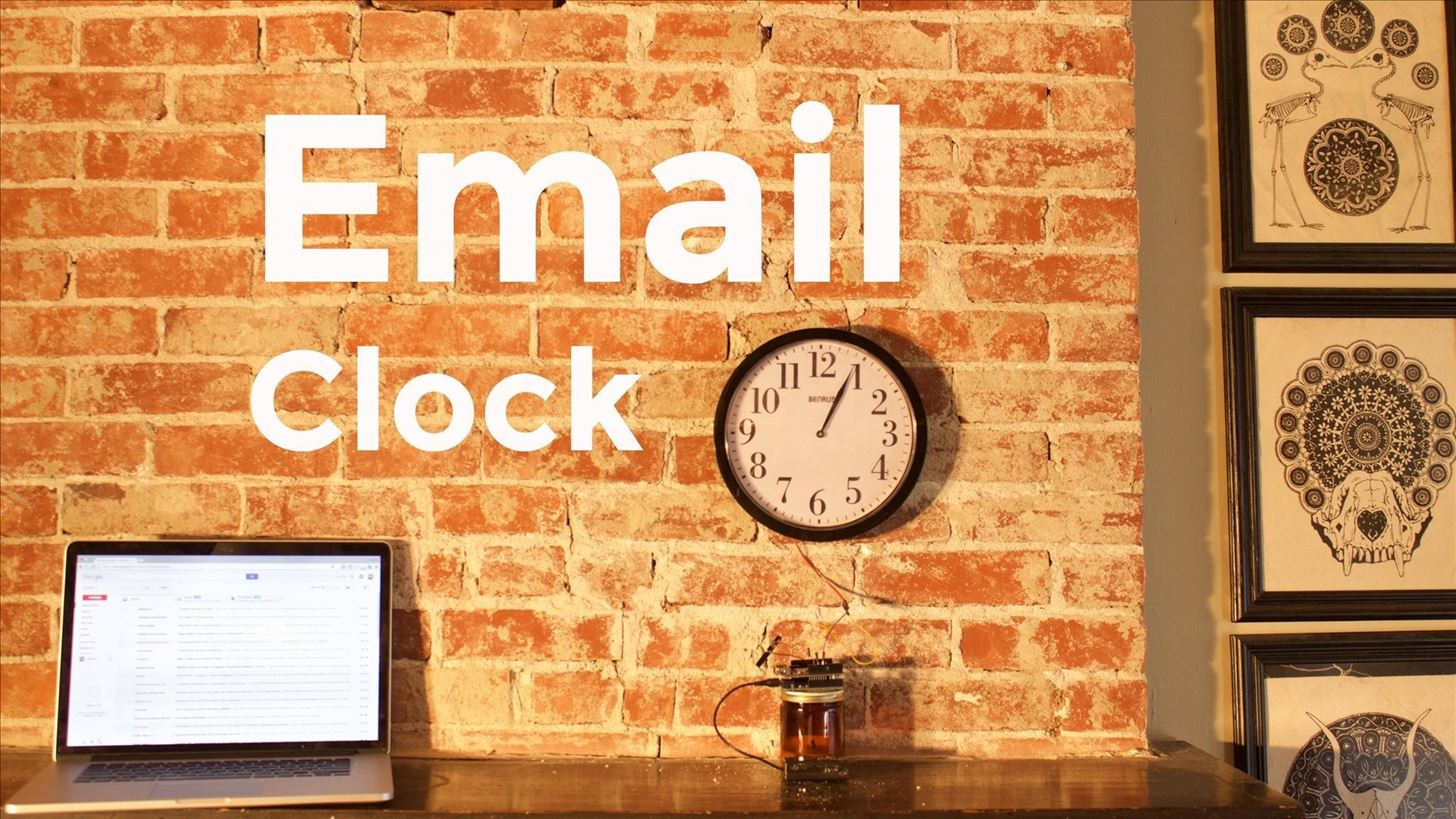 How to Make an Email Checking Clock with an Arduino Yun