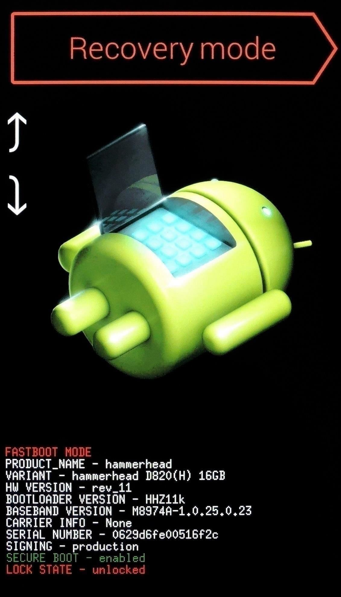 Android (recovery Method)
