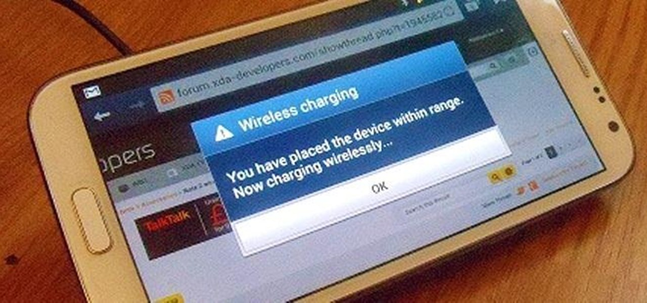 Add Inductive Charging Capabilities to a Samsung Galaxy Nexus, Note 2, and Other Android Devices