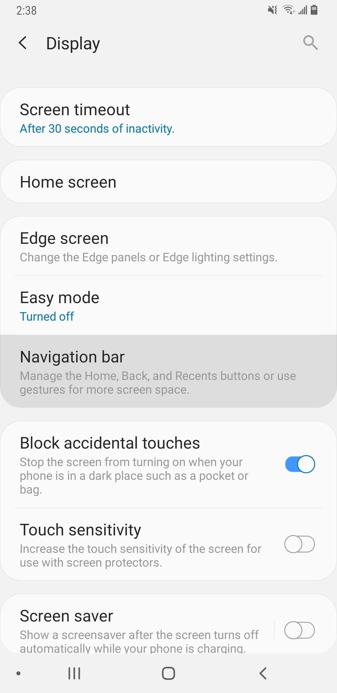 How to Enable the New Swipe Gestures on Your Galaxy in Android Pie