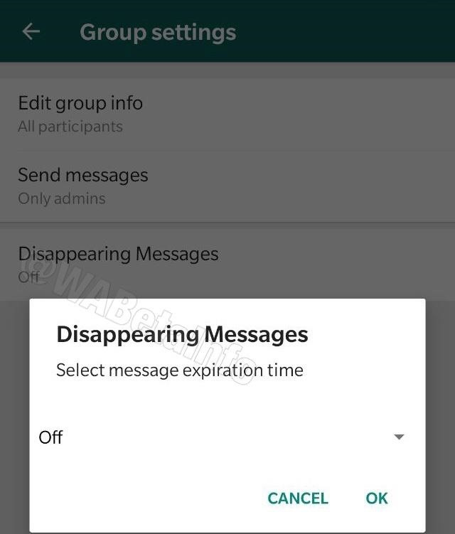 WhatsApp Betas Let You Send Self-Destructing WhatsApp Messages to Cover Your Tracks