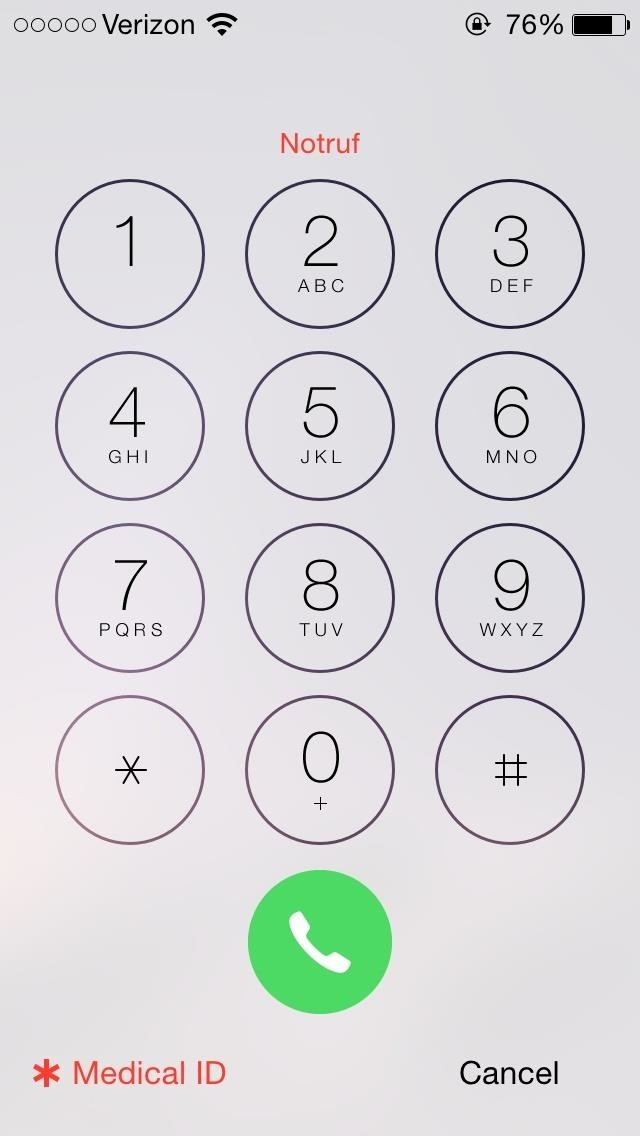 How to Add an Emergency Medical Card to Your iOS 8 Lock Screen