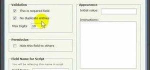 Use the Zoho Creator database application