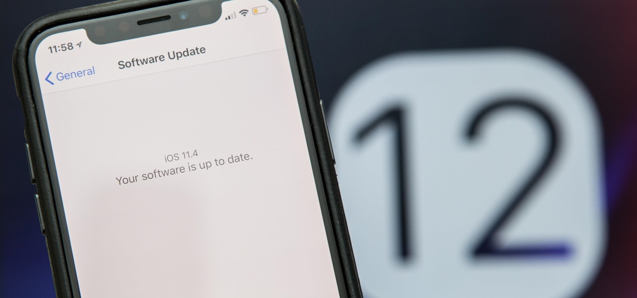 How to Downgrade iOS 12 Back to 11 4 1 on Your iPhone « iOS