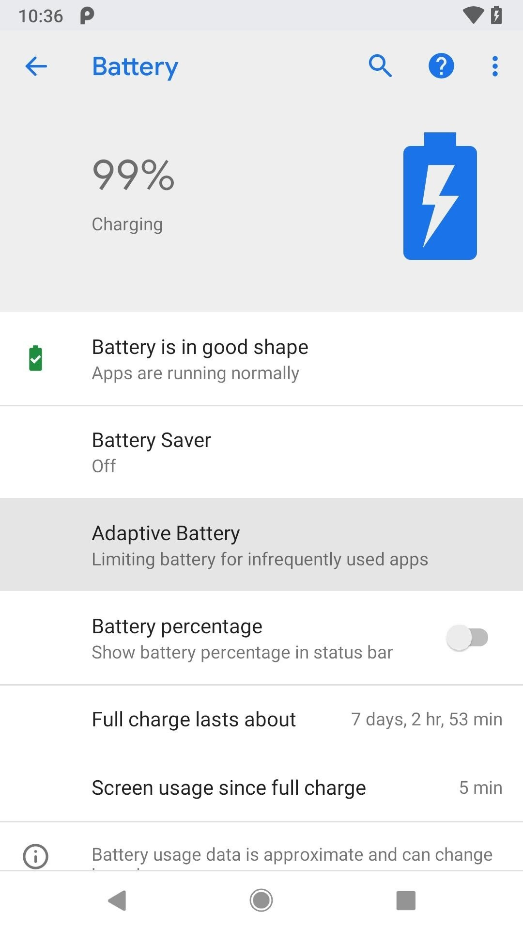 Everything You Need to Know About Android Pie's New Adaptive Battery