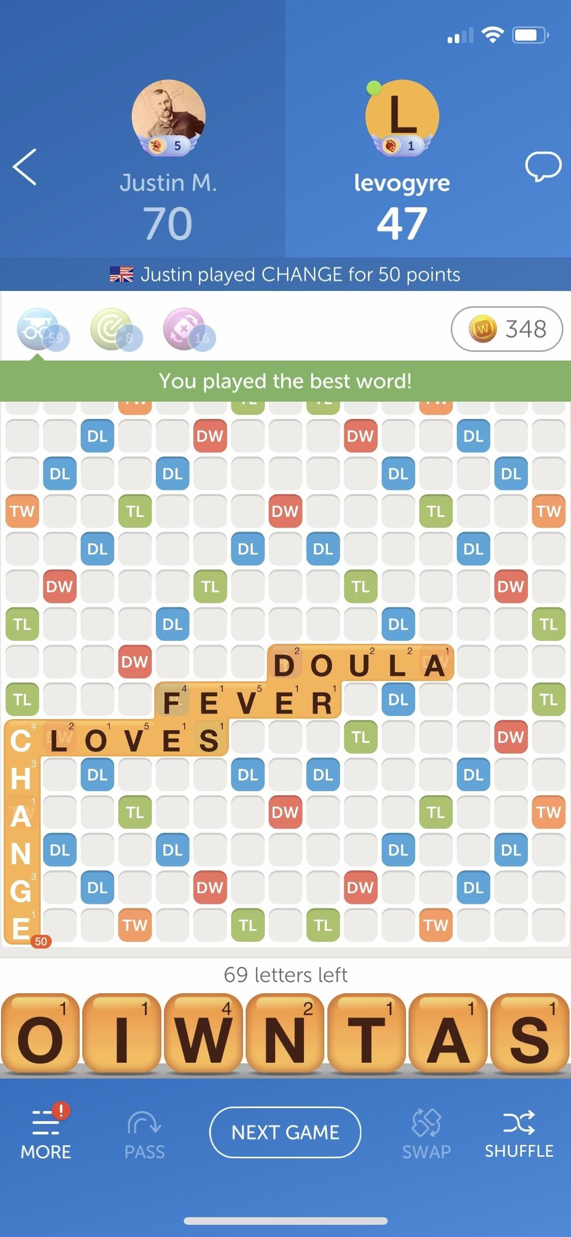 How to Get More Powerups in Words with Friends to Give You the Best Possible Move Each Time