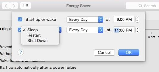 Energy Saver 101: How to Control When Your Mac Starts, Sleeps, & Shuts Down