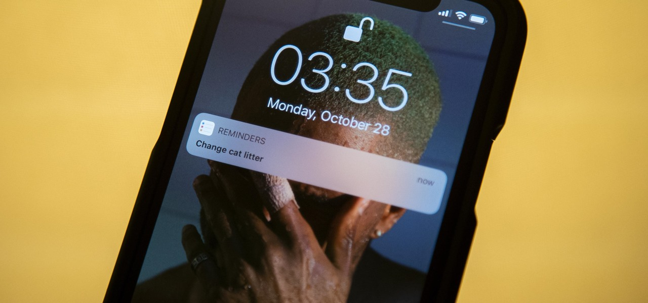 Set Reminders to Alert You on a Particular Day & Time on iOS 13