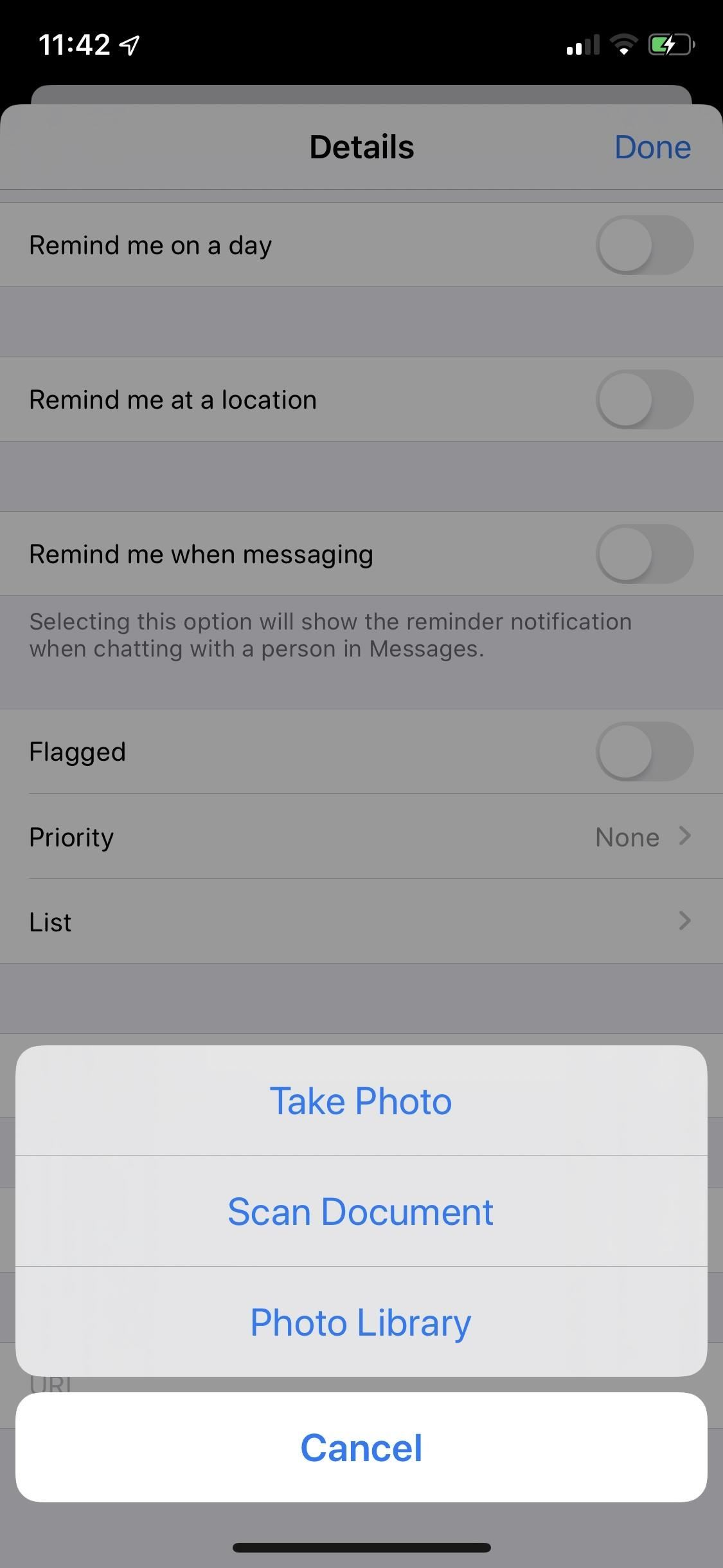 How to Attach Photos, Document Scans & Web Links to Reminders in iOS 13