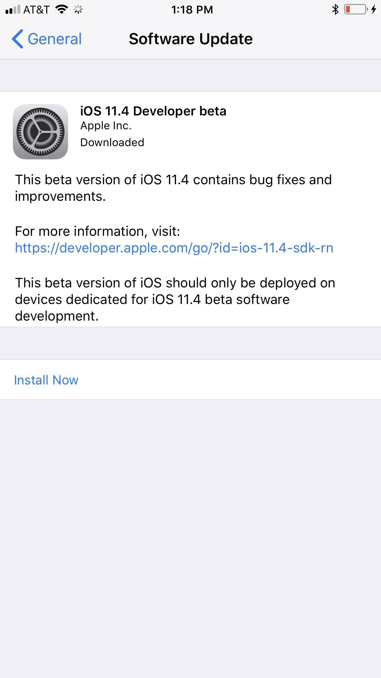 The First iOS 11.4 Beta for Just Dropped for iPhone, Messages on iCloud Returns