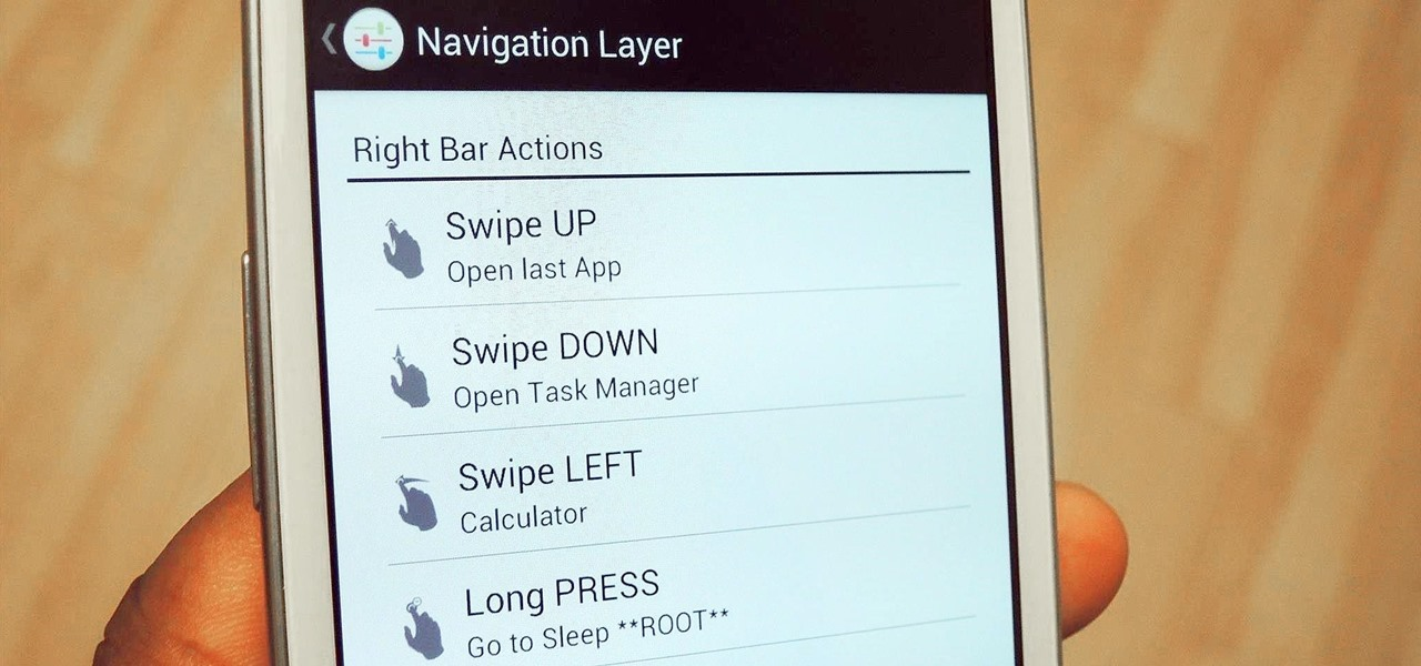 Navigate Apps & Settings with Slides & Gestures on Your Samsung Galaxy S3