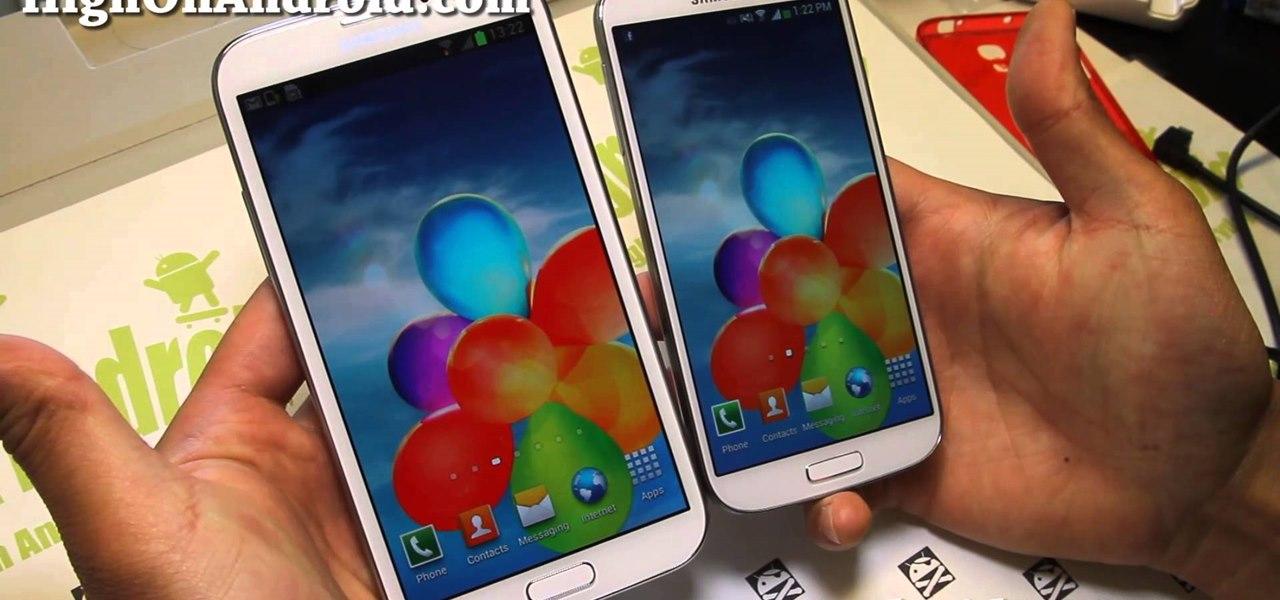 Galaxy S4 vs. Galaxy Note 2 Comparison!