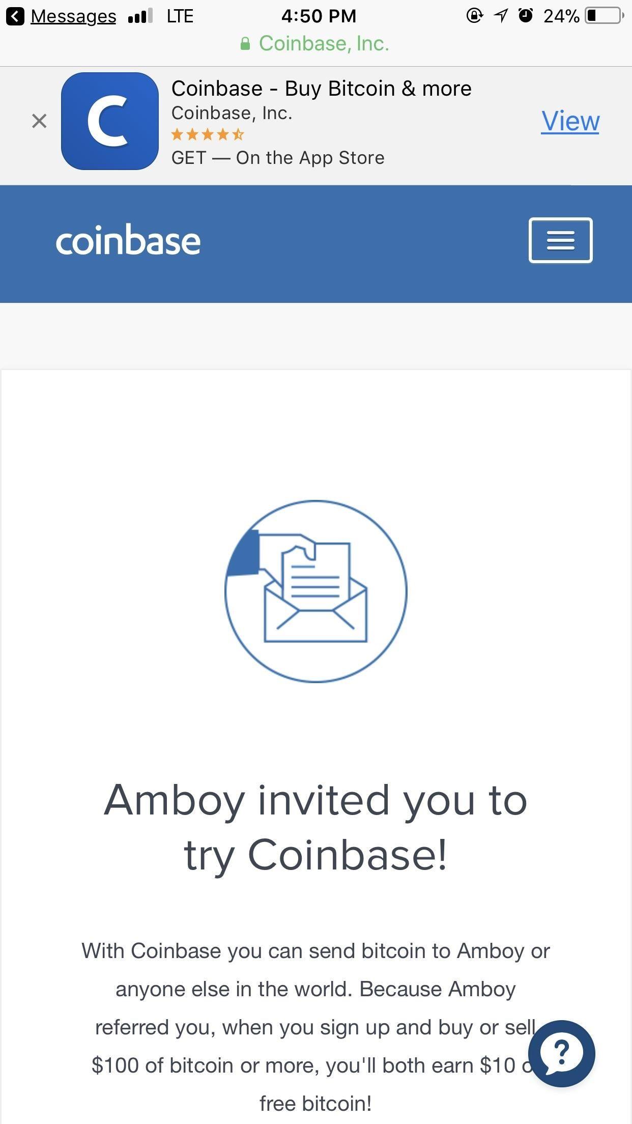 Coinbase Earn Invite