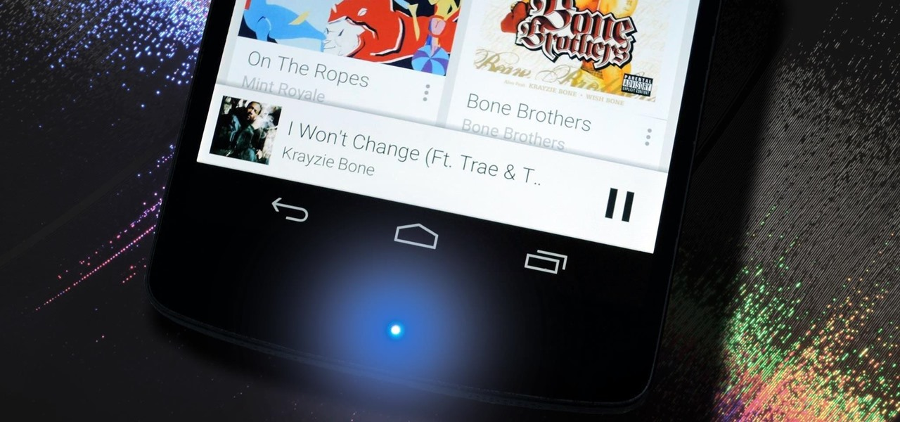 Make Your Nexus 5's LED Notification Light Dance to the Music